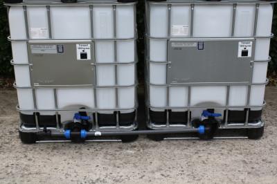 Tankverbindung DN50 nebeneinander - für 2 Tanks