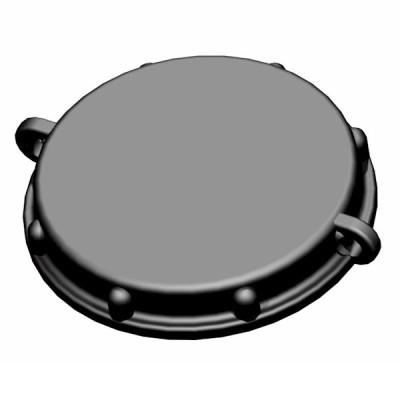 Hahn-Kappe DN50 - Kamlok Staubschutzkappe