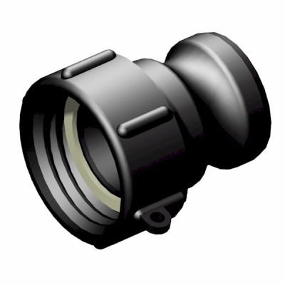 S60x6 IG auf 1,50 Zoll  Kamlok Vaterkupplung
