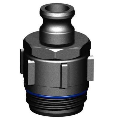 Fass Adapter S64x5 AG - 1 Zoll Kamlok Vaterteil