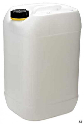 Kanister 25 Liter - UN-3H1/X1.9 - FDA - inkl Kappe K61