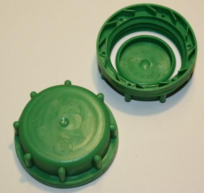 IBC Hahn-Kappe DN50 S60x6 grün