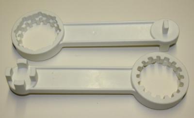 Montageschlüssel für G2-Spundstopfen u. Kappen DN50 + K60