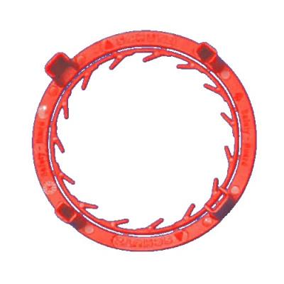 SCHÜTZ Originalitätsschutz rot* - für Hahn DN50 mit Alu Aufsatzgewinde