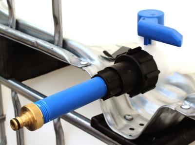 Anschluss S60x6 IG mit Rohr auf Gardena-Anschluss