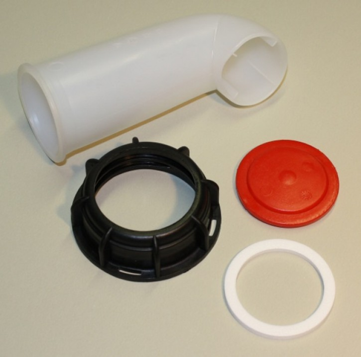 IBC Ablaufgarnitur DN50 S60x6 - 4teilig - Set 1