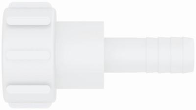 """IBC ADAPTER 360° PP/GF - DN50 S60x6 IG auf Schlauchtülle 1"""" (25mm) - drehbar"""