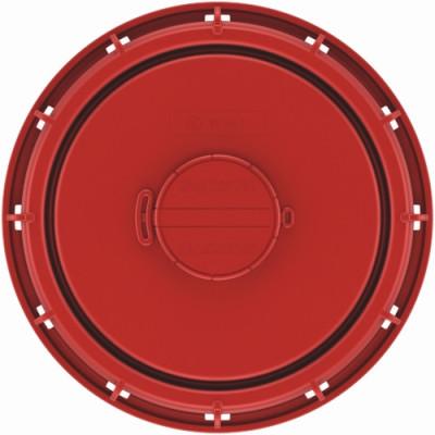 IBC Deckel NW225 - rot - G2-Entl.-Vent+EPDM
