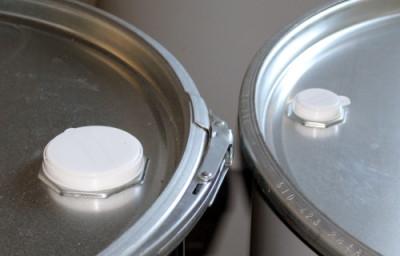 """Fass-Kappe 3/4"""" aus Kunststoff in weiß"""