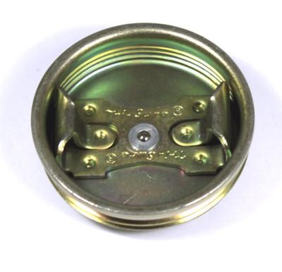Spundstopfen 2 Zoll - aus Metall - mit Entgasung … für Stahlspundfass 200 Ltr