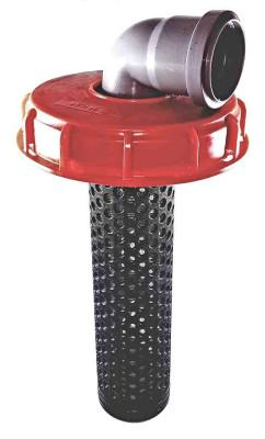 Deckelfilter NW150 auf HT-Bogen DN50 90° (SET)