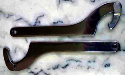 - IBC Hakenschlüssel (90-155mm) V4A passend für DN40 - DN80 Edelstahl Nutmuttern und IBC Adapter
