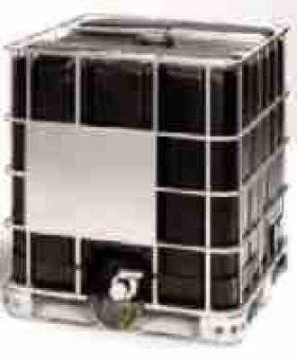 Regenwassertank 1000 Liter - UV Schutz schwarz - 1ste Wahl - NW150 - DN50 auf Holzpalette