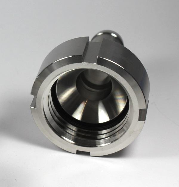 """25mm DN50 S60x6 IG auf Schlauchtülle 1/"""" IBC ADAPTER 360° PP//GF - drehbar"""