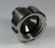 "IBC ADAPTER 360° V4A - DN50 S60x6 IG auf 1"" IG - EPDM - drehbar"