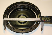 IBC Deckel NW150 - schwarz-G2 Entlüftung + TPE