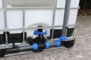 Tankverbindung DN50 übereinander - für 2 Tanks