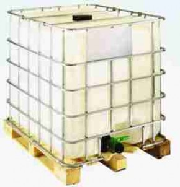 Regenwassertank 1000 Liter - 1ste Wahl - NW150 - DN50 auf Holzpalette